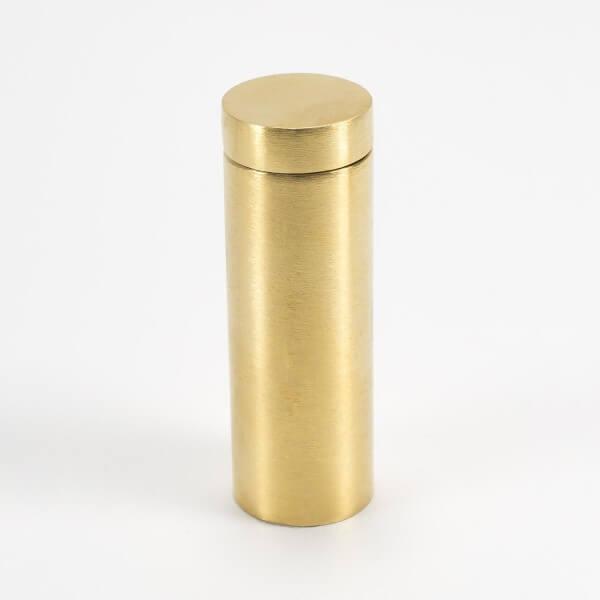 Plexiglas Abstandshalter 19 x 50 mm gold