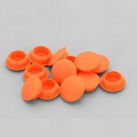Bohrloch Abdeckkappe 10mm Dunkel Orange