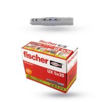 Fischer Universaldübel UX 5x30 - 100er Pack