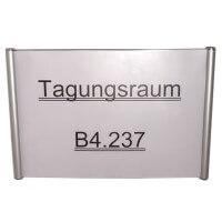 Aluminium Türschild Elegance Line 150 x 500 mm