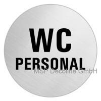 Piktogramm Personal WC 75mm Rund