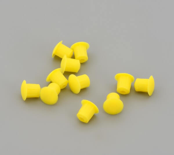 Bohrloch Abdeckkappe 5mm Gelb