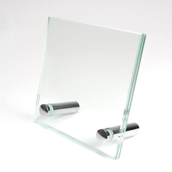 Tischaufsteller als Glas 10 cm