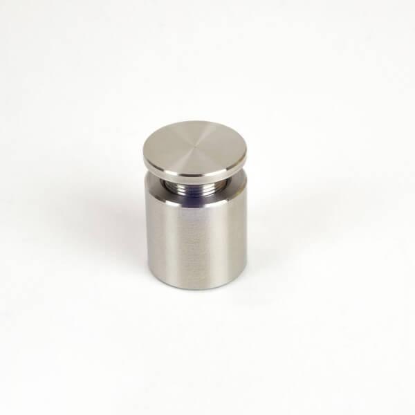 Edelstahl Schilderhalter 13mm