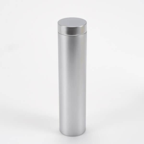 Plattenhalter silber 19 mm 75 mm