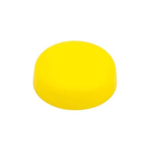 Schraubenkappe gelb 16mm