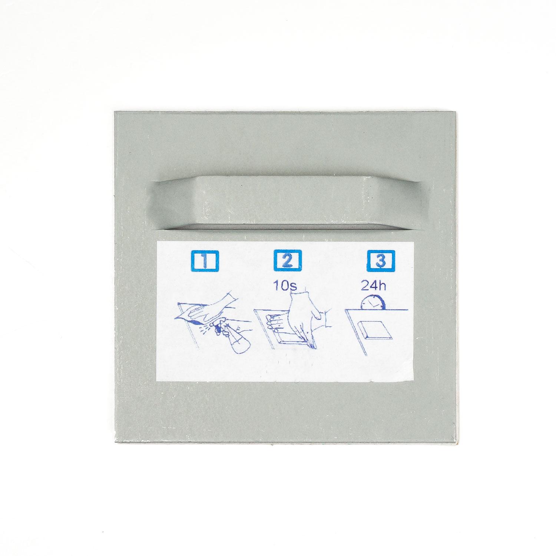 acrylbildhalter mit se 70x70 mm selbstklebend online kaufen. Black Bedroom Furniture Sets. Home Design Ideas