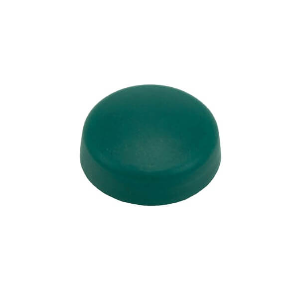 Schrauben Abdeckkappe 13 mm Grün