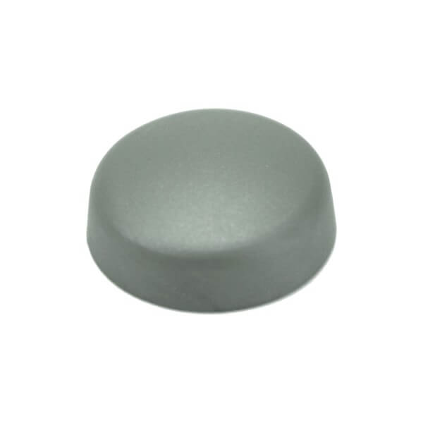 Schrauben Abdeckkappe 16 mm Silber Grau