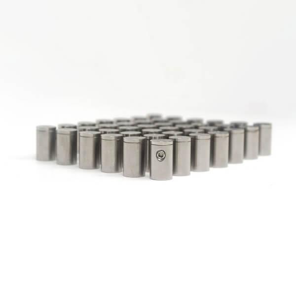 Edelstahl Abstandshalter 10 x 15 mm Made im 100er Angebot