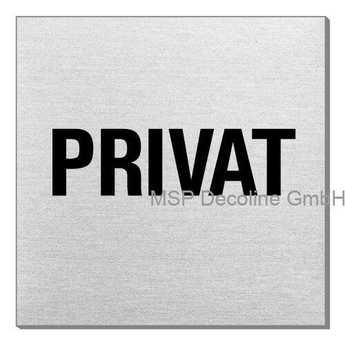 Piktogramm Privat