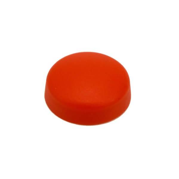 Schrauben Abdeckkappe 13 mm Rot