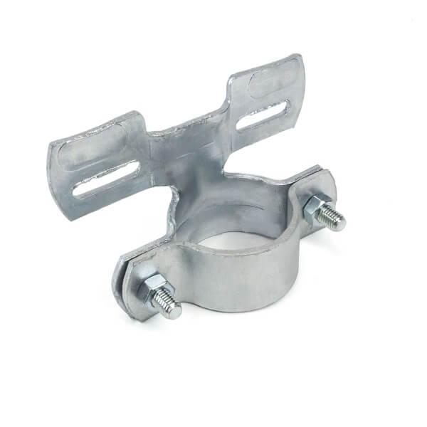 Schilder Rohrhalter für 48mm Rohre