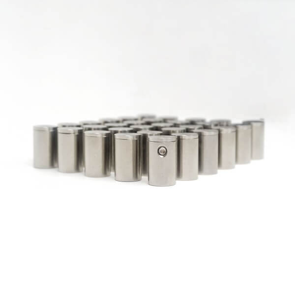 Edelstahl Abstandshalter 13 x 20 mm Made im 100er Pack