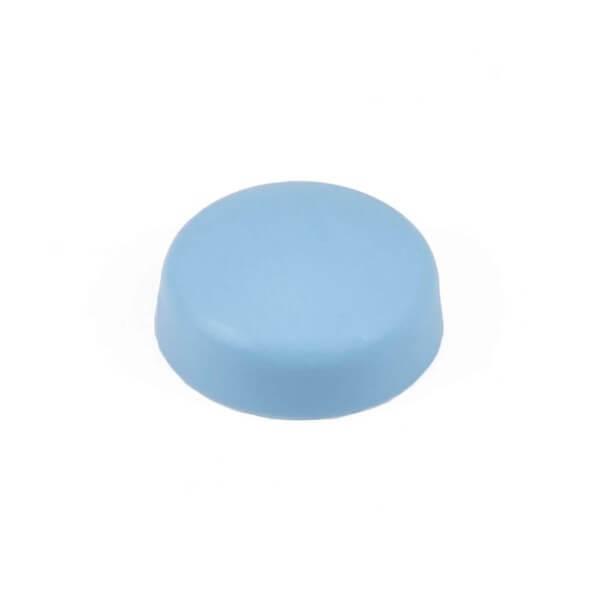 Schrauben Abdeckkappe 13 mm Hellblau