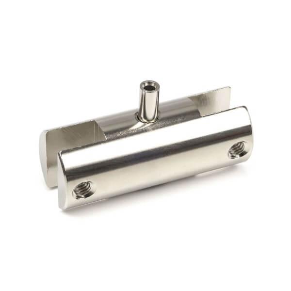 Doppelhalter für Messing Silber Chrom Aufsteller System