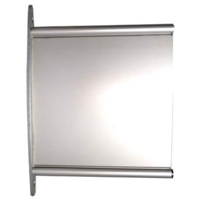 Aluminium Fahnenschild Elegance Line DIN A4