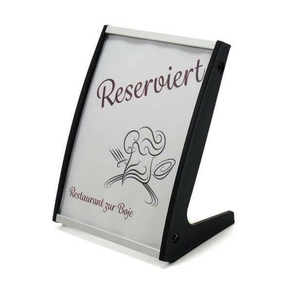 Tischaufsteller Restaurant