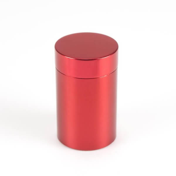 Alu Abstandshalter in Rot 19 mm x 25 mm