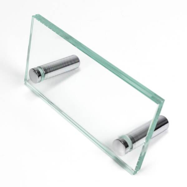 kleiner glas Aufsteller