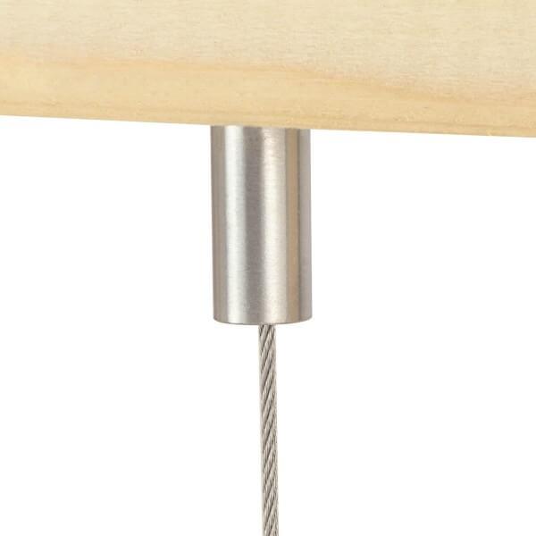 Deckenhalter rund 10 mm, Edelstahl Mini