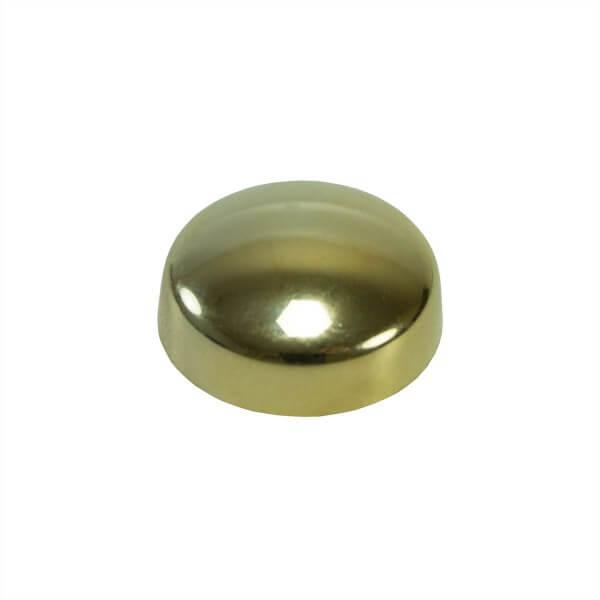 Schrauben Abdeckkappe 13 mm Gold Chrom