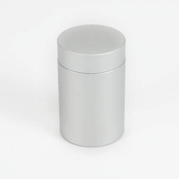 Satinierter Abstadshalter aus Alu 20 mm x 25 mm