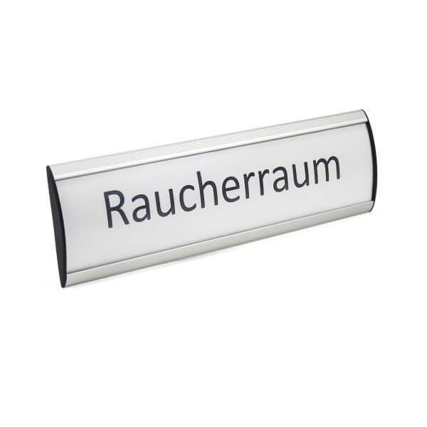 Exclusiv Line Türschild Raucherraum