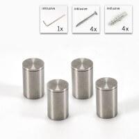 Madenschraube V2A Edelstahl Abstandshalter Set 13 mm x 20 mm