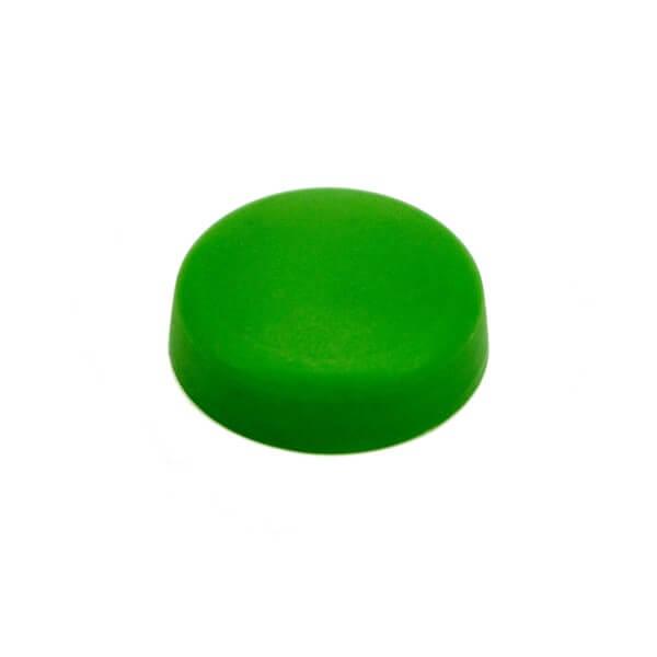 Schrauben Abdeckkappen Hellgrün 13mm