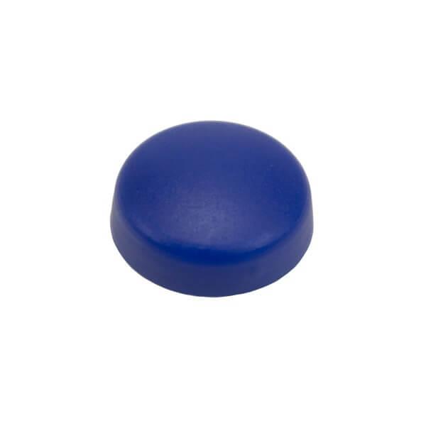 Schrauben Abdeckkappe 13 mm Blau