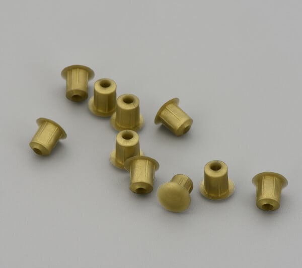 Bohrloch Abdeckkappe 5mm Messing