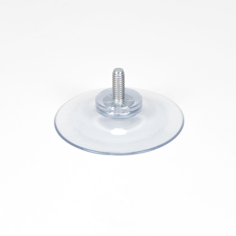saugnapf klar 40 mm durchmesser mit m4 x 10mm gewinde kaufen. Black Bedroom Furniture Sets. Home Design Ideas