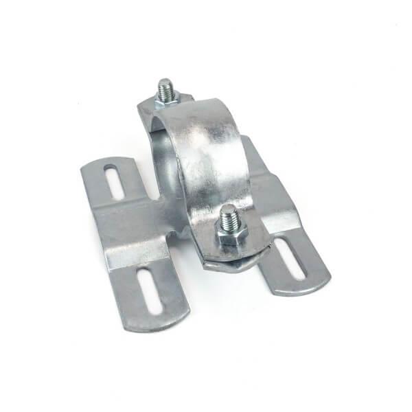 Rohrhalter für 2 Schilder 60mm