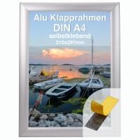 Aluminium Klapprahmen Easy-Fix DIN A4