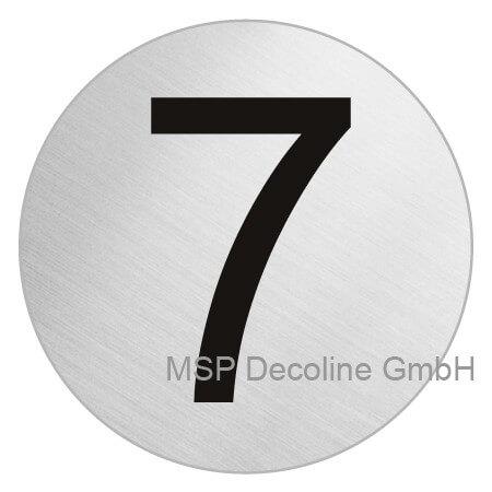 Piktogramm Sieben 75mm Rund