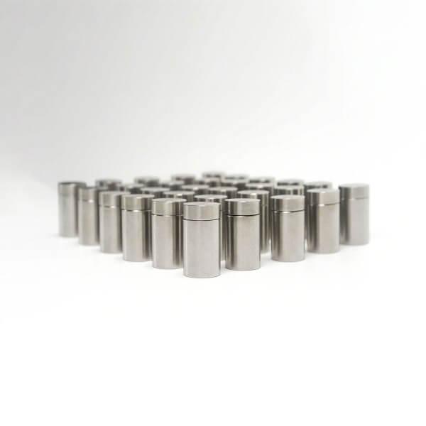 Abstandshalter schraubbe Edelstahl 13x20 mm im 100er Set