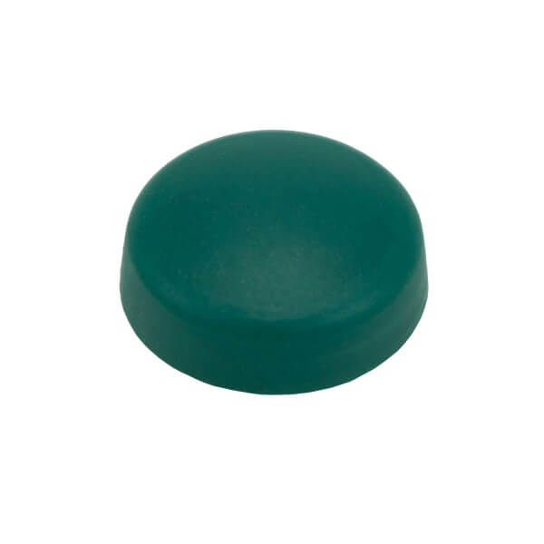 Schrauben Abdeckkappe 16 mm Grün