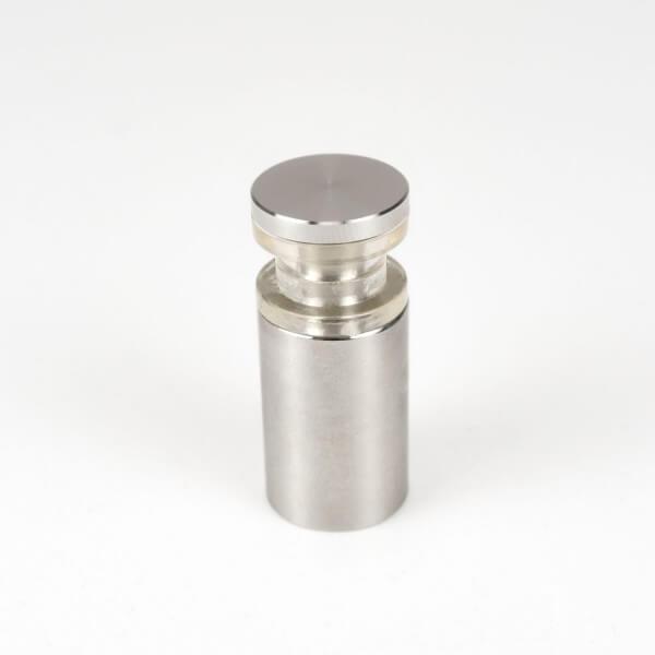 Doppelglas Halter 13 x 20 mm, PS 2 x 3 mm, V2A