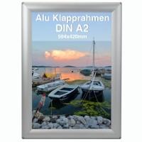 Alu Klapprahmen DIN A2 Opti Frame®