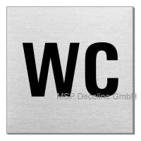 Piktogramm WC 70x70 mm
