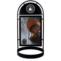 Kundenstopper Wheel DIN A1