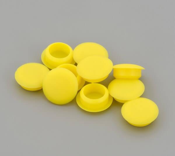 Bohrloch Abdeckkappe 10mm Gelb