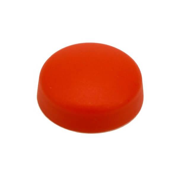Große Schraubenkappe Rot 16mm