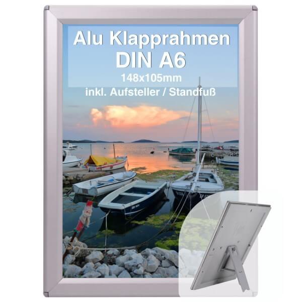 Alu Klapprahmen Din A6