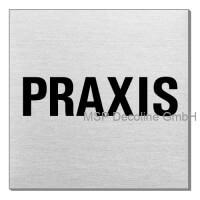 Piktogramm Praxis 70x70 mm