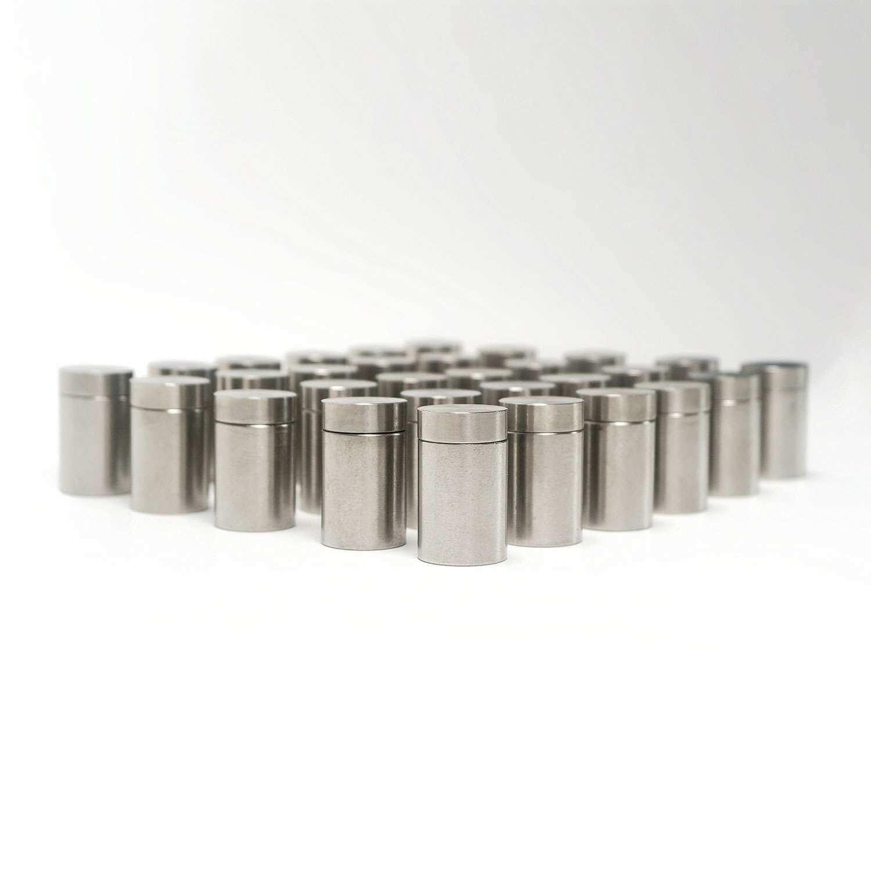 Möbel & Wohnen Werbeartikel & Merchandising Schlussverkauf Aluminiumbefestigung Abstandshalter Aluminium Wandabstandshalter Befestigung Alu