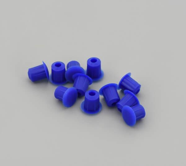 Bohrloch Abdeckkappe 5mm Blau