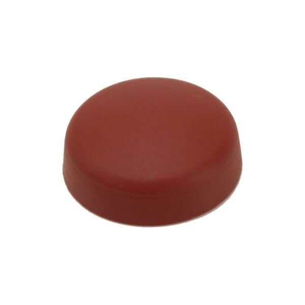 Schrauben Abdeckkappe 16 mm Dunkel Rot