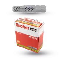 Fischer Universaldübel UX 6x35 - 100er Pack